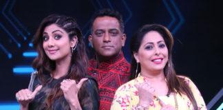 Shilpa Shetty, Anurag Basu & Geeta Kapur