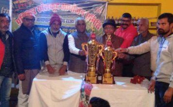 Pushkarna Champions Cup 2020 cricket