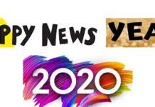 HAPPY NEWS YEAR 2020