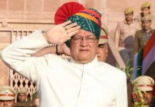 Cabinet Minister Dr. B. D. Kalla